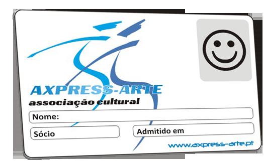 Cartão de Sócio Axpress-Arte