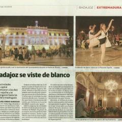 Noite em Branco em Badajoz
